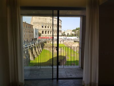 Photo for New apartment with Amazing view of Colosseum