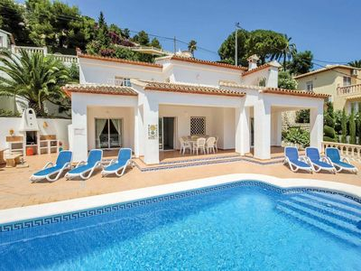 Photo for 3 bedroom Villa, sleeps 6 in Urbanització Montemar with Pool, Air Con and WiFi