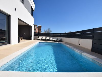 Photo for Brand new modern villa with private pool and fenced garden with barbecue area