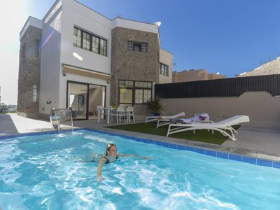 Photo for Villa Amadores n6, fully renovated, chill out, modern, ocean view, pool heated.
