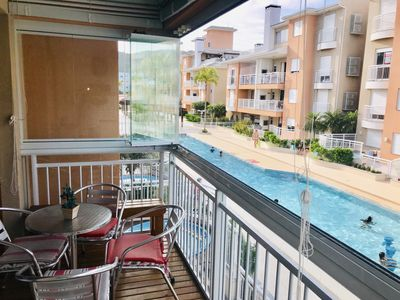 Photo for SPECIAL APPARTMENT FOR YOUR HOLIDAYS WITH SWIMMING POOL 70mts