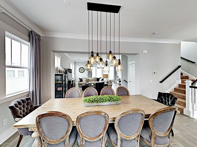 Dining Area - When it's time to eat, you'll find ample seating at a formal dining room table for 10.