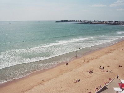 Photo for Balcony with Splendid View Saint Gilles Beach (5th Floor with Elevator