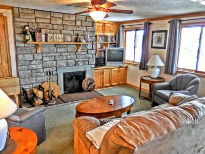 Photo for ML246 2BR/2BA Fireplace Wi-Fi PARKING Faces Slopes & Village