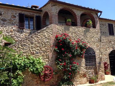 Photo for Casciano Di Murlo: country holiday home - 17 rooms - 12/15 persons