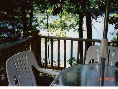 Photo for Lone Pine Cottage  1 Bedroom Lakefront on Bryan Lake