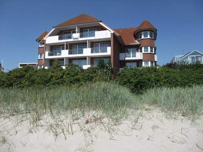 Photo for SR 05 Hochparterre - Corner apartment right on the beach - SR 5 Fischerkieker from the Baltic Sea