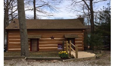 hot cabins tubs indiana county and hills log vacation in rental rentals with cabin o brown homes