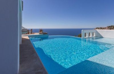 Photo for 5 bedroom Villa, sleeps 10 in Na Xamena with Pool, Air Con and WiFi