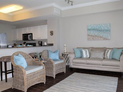 Photo for Tidewater! Newly remodeled beach front luxury condo with beach servic