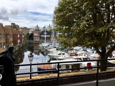 Photo for 2 bedroom apartment Zone 1 overlooking St Katharine's Dock & Tower Bridge