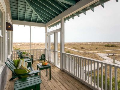 Photo for Enjoy panoramic views of the island from this cozy, oceanfront beach house.
