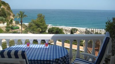 Photo for Refurbished 2 Bedroom Apartment with Sea Views over Nerja's Burriana Beach