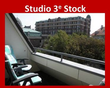 Photo for Studio in the center 200 meters from the beach Third floor