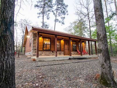 Photo for Hickory Moon - 1 Bedroom Honeymoon/Anniversary Cabin near Beavers Bend Park