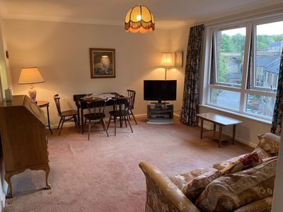 Photo for Lovely  flat in quiet corner of central Edinburgh