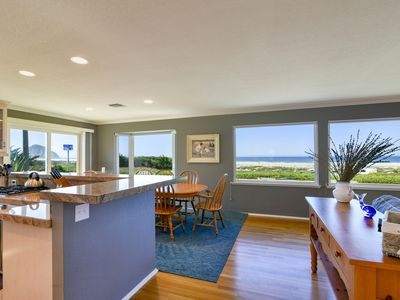 Photo for Oceanfront beach home, steps from the sand!