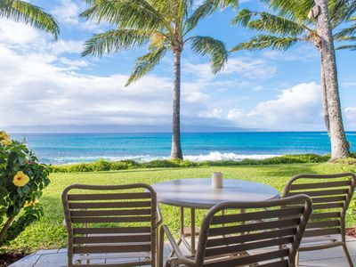 Photo for Direct Oceanfront Napili Shores I -173:  2 swimming pools - Free Parking & WiFi