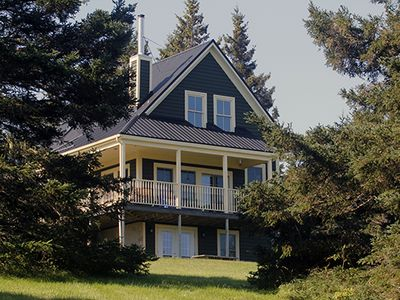 Photo for CUSTOM LUNENBURG 2BR HOME WITH PRIVATE HILLTOP SETTING, BEACH AND PATHWAY.