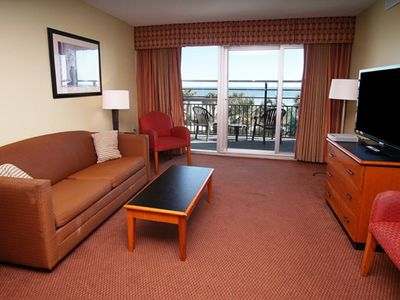 Photo for Bay View Resort #207, 2 BR Condo with Gorgeous Ocean Views, Indoor Outdoor Pool, Hot Tub, Lazy River and Kiddie Pool