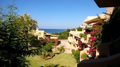 Photo for BEAUTIFUL APARTMENT 100 METERS FROM THE BEACH - OLHOS DE AGUA - MAX 5 PERS