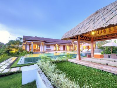 Photo for Atma, 4 Bedroom Villa+Car in Ubud;