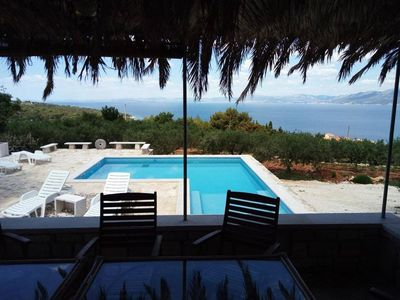 Photo for Family friendly house with a swimming pool Postira, Brač (K-15021)