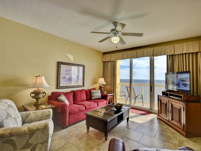 Photo for Wow!!!! 2006 E Calypso Gulf Front 2 bed 2 bath w/ beach service 2019