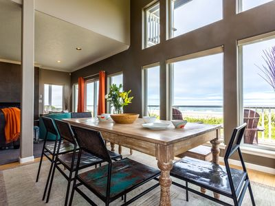 Photo for Modern Ocean Front Home on a Sandy Beach! Hot Tub & Game Room! FREE NIGHT!