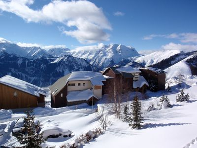 Photo for Ski To Door Studio Apartment With Stunning Views