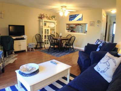Photo for Ocean Edge - Attractive 2 BR (sleeps 6) with A/C & pool (fees apply) - BI0048