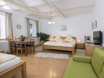 Photo for 45 m² apartment on the south side with restored vaulted ceiling