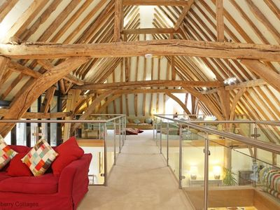 Photo for Great Higham Barn  -  a barn that sleeps 26 guests  in 7 bedrooms