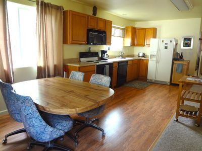 Large spacioous kitchen with everything you will need.