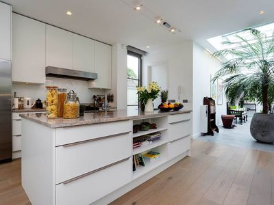 Photo for Amazing modern interior design in this beautiful Clapham home (Veeve)