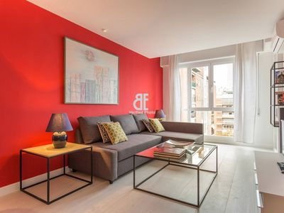 Photo for Be Apartment - This fabulous studio with 1 bedroom and 1 bathroom, has a privileged location in the district of Tetuán, just a few meters from the Paseo de la Castellana and the Santiago Bernabeu Stadium.
