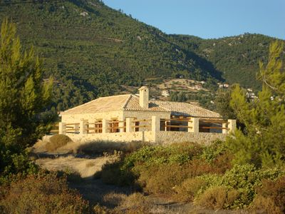 Photo for Stone Cottage With Private Pool And Sea Views On The Unspoilt Island Of Evia