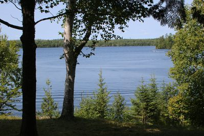 Northwest view of Moose Lake and BWCAW