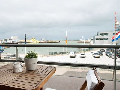 Photo for Light and spacious apartment in the harbor of Scheveningen.