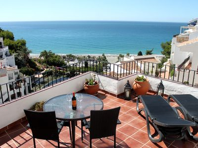 Photo for Spacious with fantastic sea view