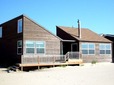 """Photo for """"Baugh's Beach House"""" Cozy oceanfront home right in the sand in Pacific City!"""