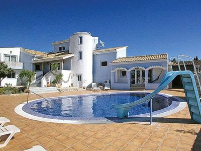 Photo for 6 bedroom Villa, sleeps 13 with Air Con, FREE WiFi and Walk to Beach & Shops