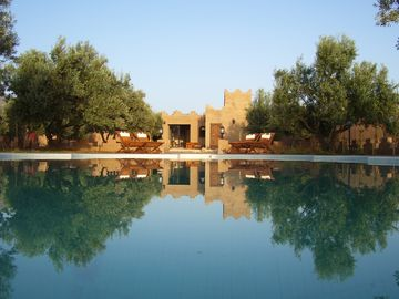 Charming rooms swimming pool & SPA- mountain MarrakechHouse with garden