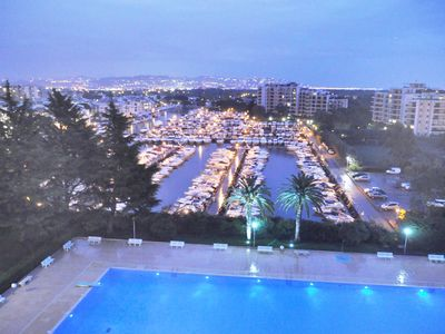 Photo for Beautiful 3 rooms - CANNES MARINA very pleasant year-round, 2-6 pers, sea view