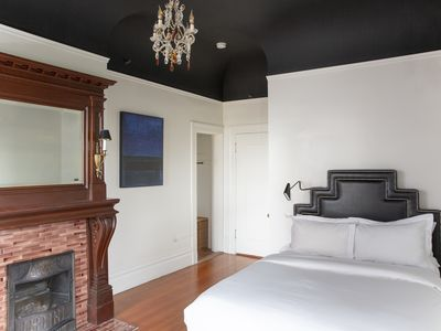 Photo for Archbishop's Mansion | Elegant Guest Room | 2 Beds