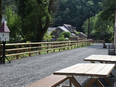Photo for Cathelyd Colliery Cottages walking, bird watching and sight seeing. Dog friendly