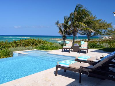 Photo for Luxury Oceanfront Villa near Emerald Bay, Exuma