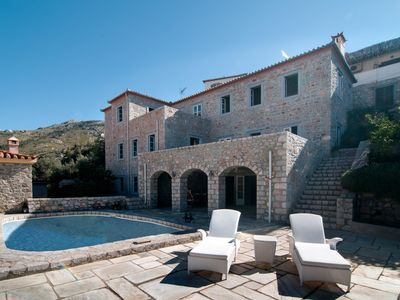 Photo for Villa Hydra with panoramic sea view and pool