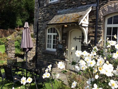 Ees Wyke Cottage and garden