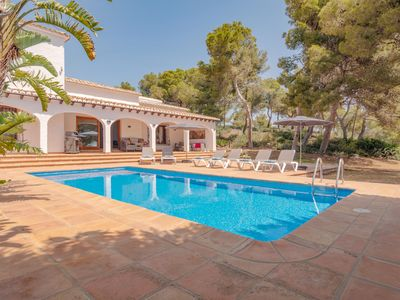 Photo for Views on the edge of the Mediterranean sea - a luxury holiday villa in Javea